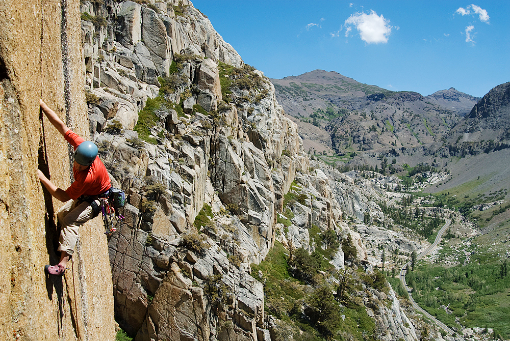 Jerry Dodrill on the first ascent of