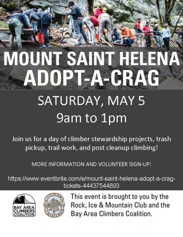 St. Helena Adopt-a-Crag may 2018